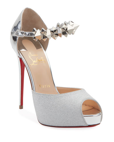 Planisfemme Platform Red Sole Pumps