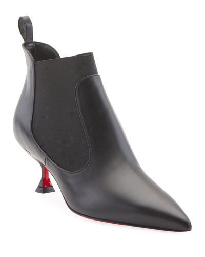 Carnavague Gored Red Sole Booties