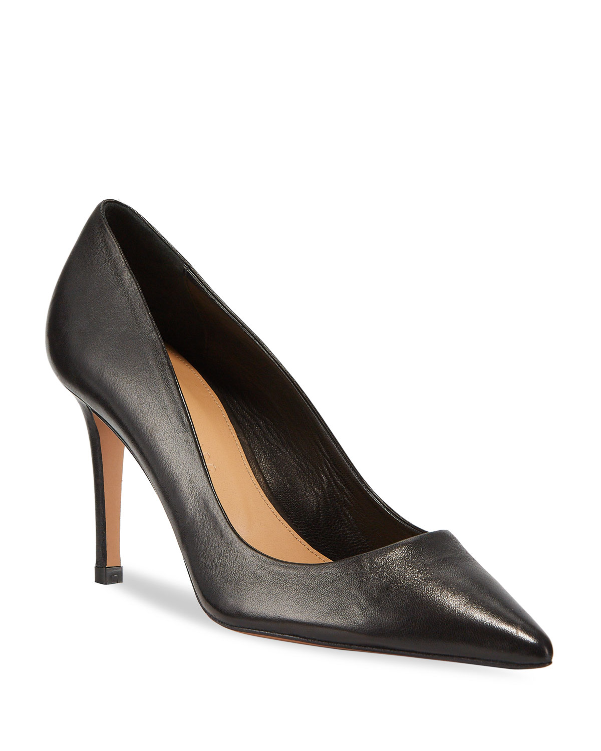 Aurora Pointed Smooth Pumps