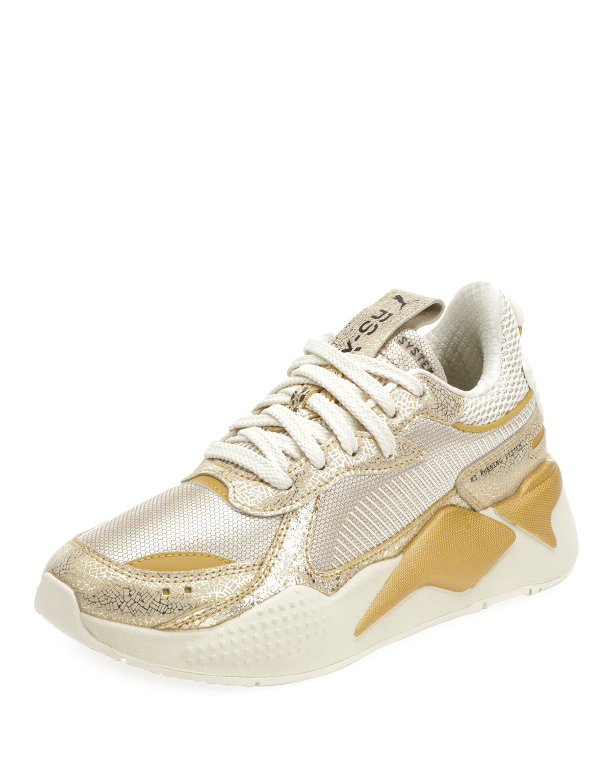 RS X Winter Glimmer Sneakers