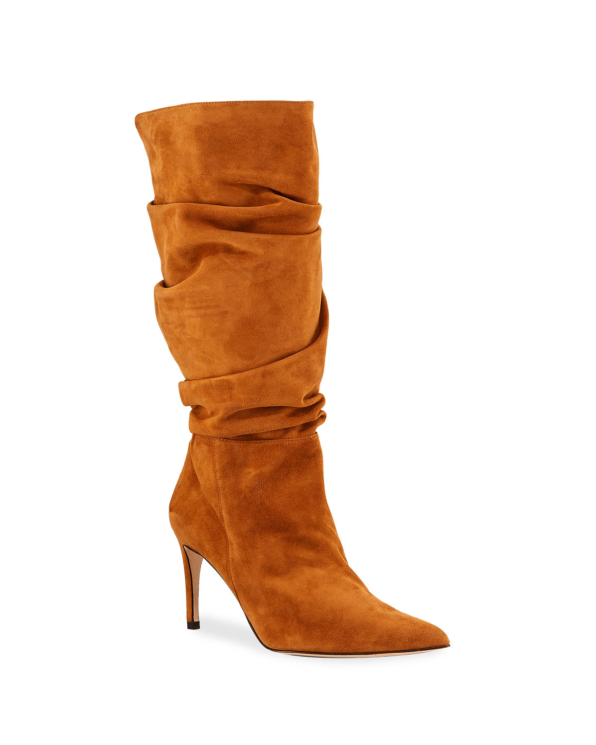 Lucy Slouchy Suede Stiletto Boots