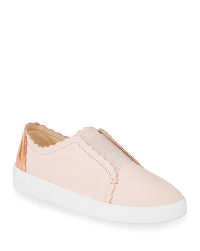 Grand Crosscourt Scalloped Slip-On Sneakers
