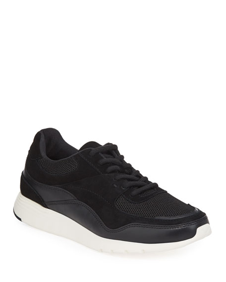 Cole Haan Grand Crosscourt Mixed Leather Trainer Sneakers