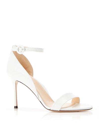 Larkspur Leather Ankle Strap Sandals