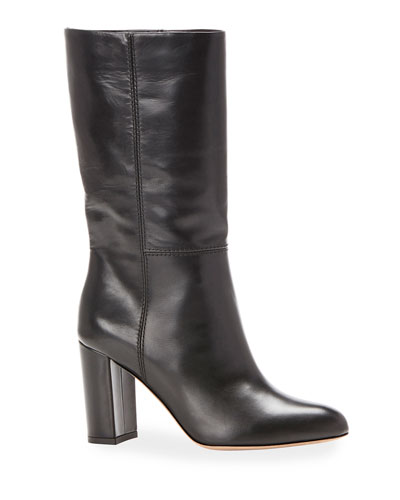 Delila Smooth Leather Boots