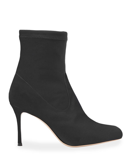 Marion Parke Drew Stretch Suede Booties