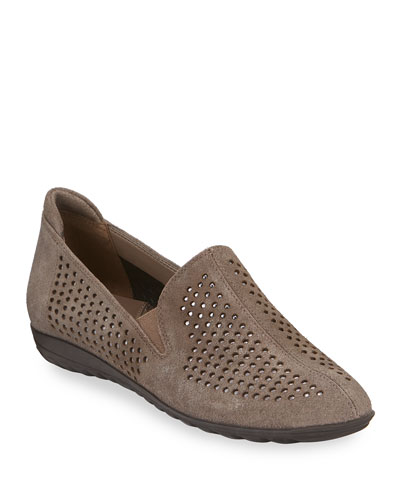 Bain Casual Perforated Flats, Taupe
