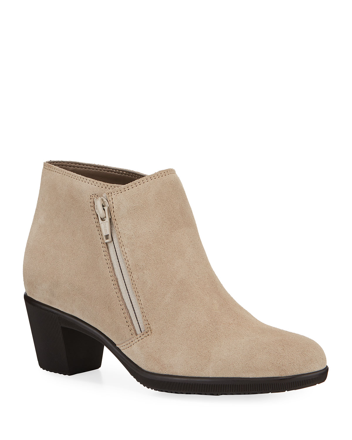 Pallas Water-Resistant Ankle Booties, Taupe