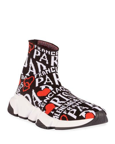 Speed Printed Chunky Sneakers
