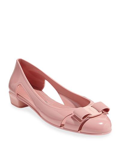 Vara Jelly Ballet Flats