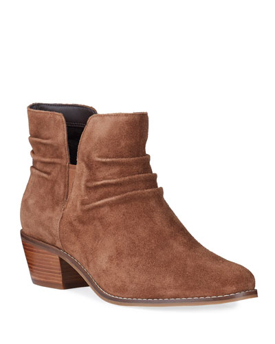 Alayna Slouchy Leather Booties