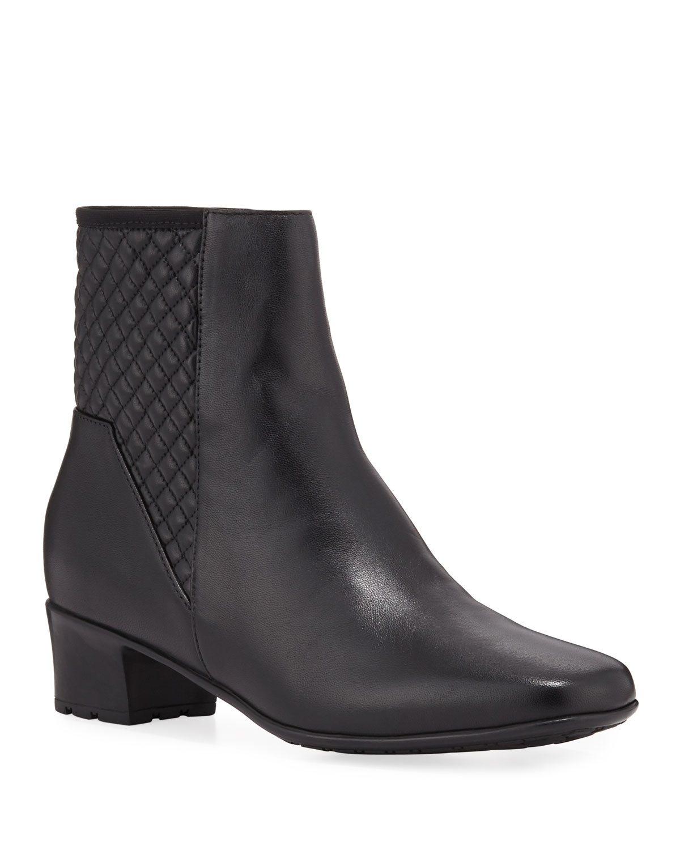 Yaire Waterproof Leather Booties