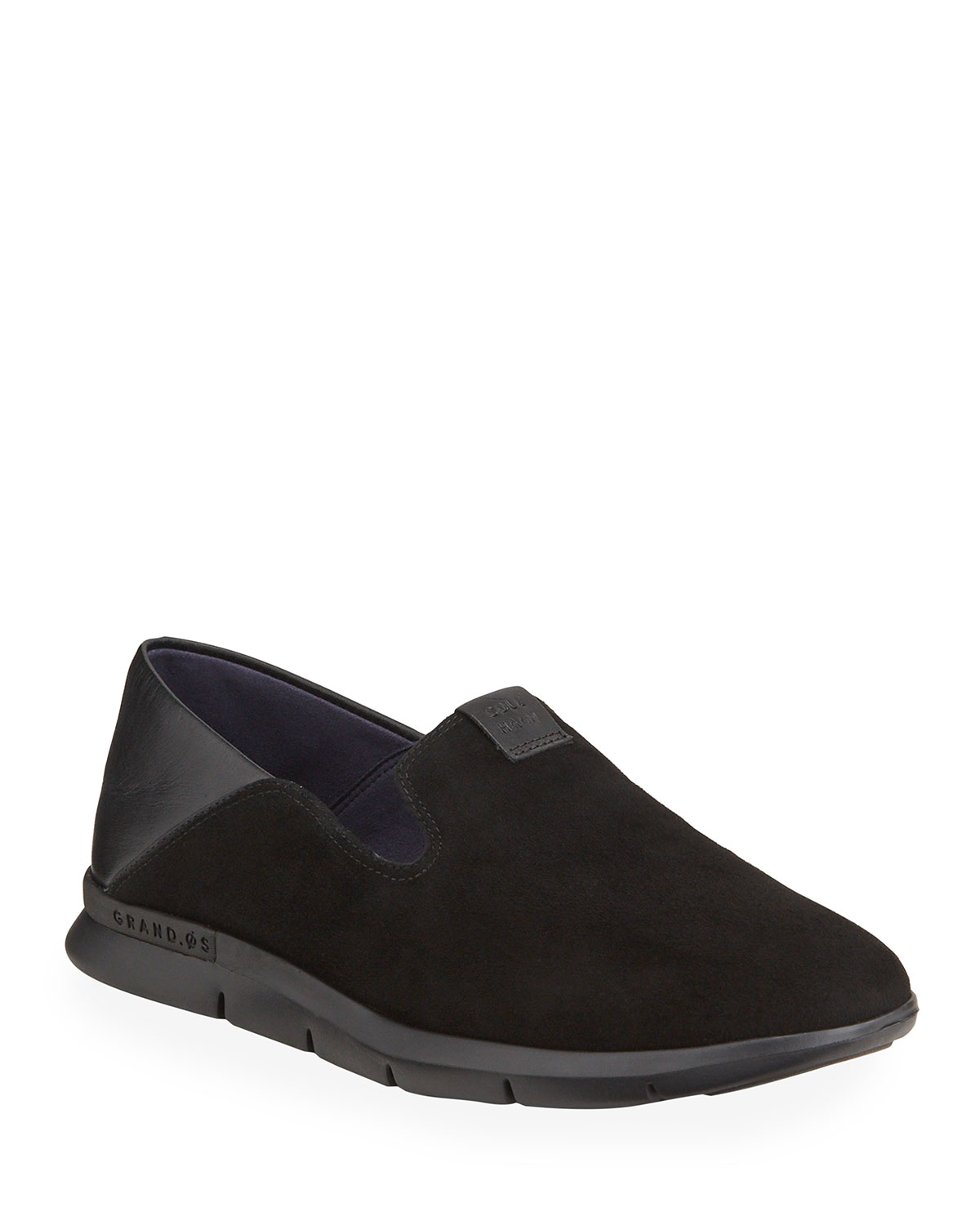 Cole Haan Loafers GRAND HORIZON MIXED LEATHER SLIP-ON LOAFERS