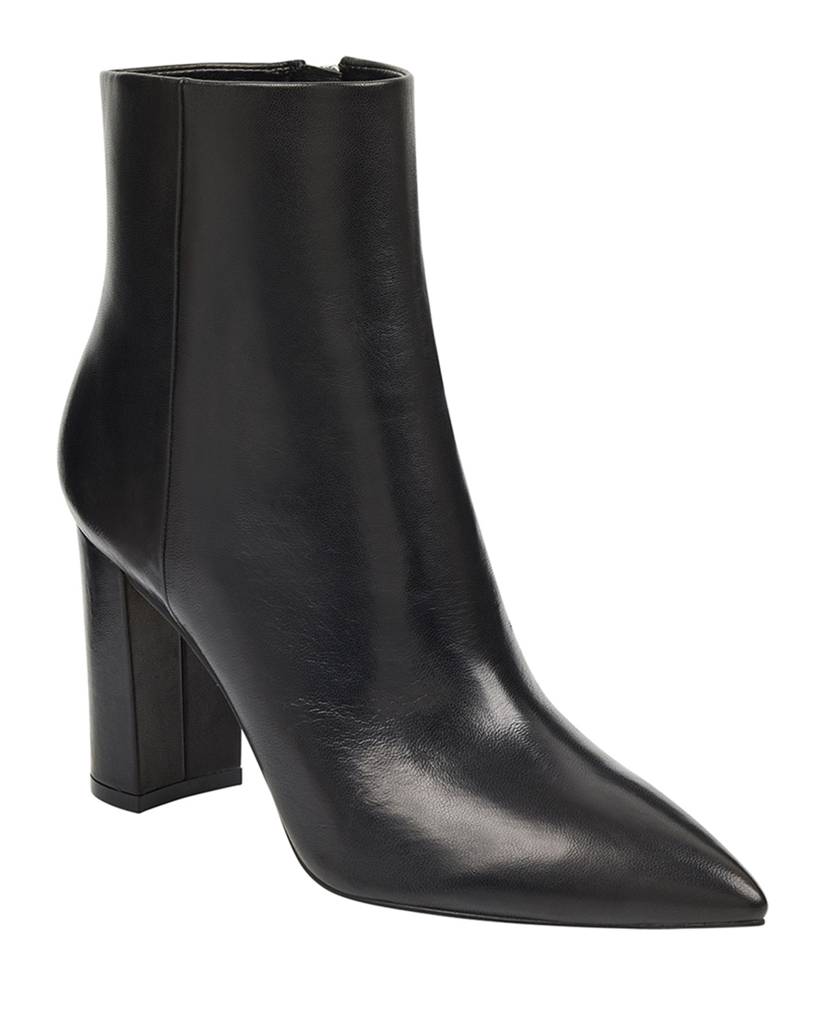 Ulani Smooth Leather Booties