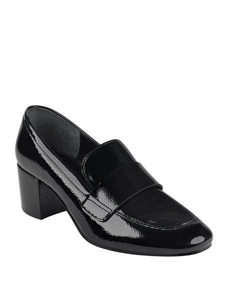 Marc Fisher LTD Hudson Shiny Dress Loafers