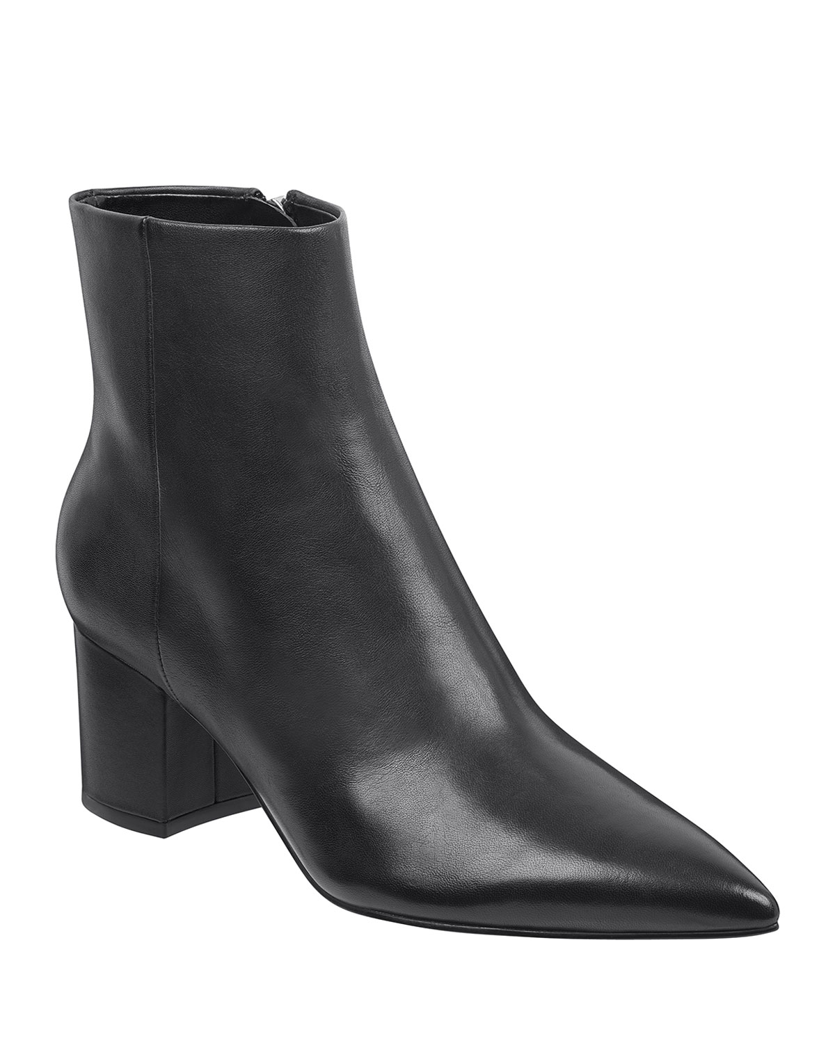 Jarli Leather Booties