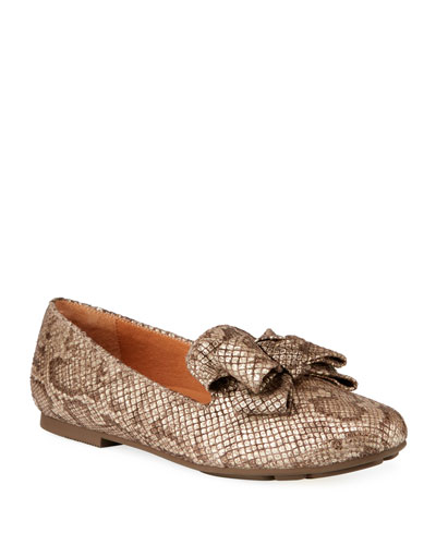 Eugene Ribbon Bow Loafers