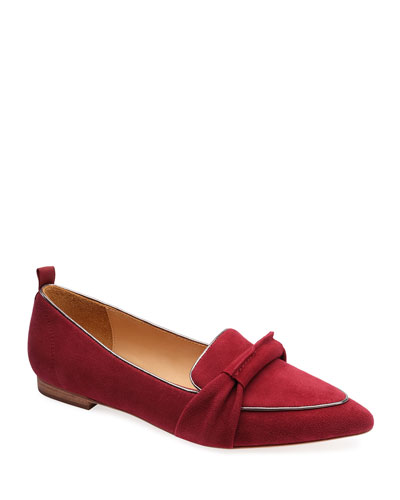 Surit Suede Flat Loafers
