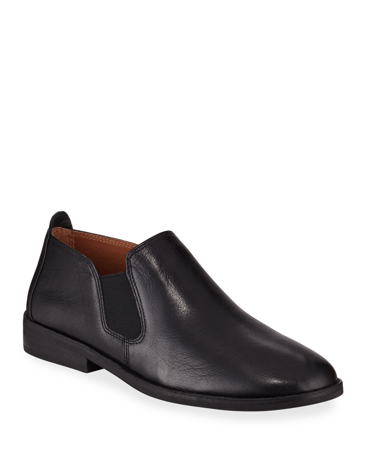 Essex Easy Leather Booties