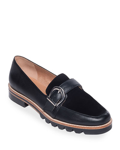 Octavia Buckle Loafer Flats