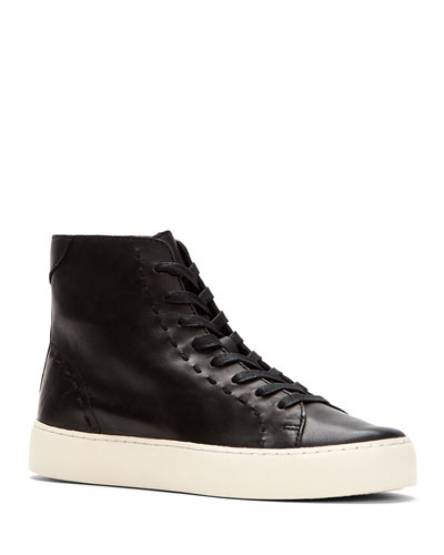 Lena High-Top Lace-Up Sneakers