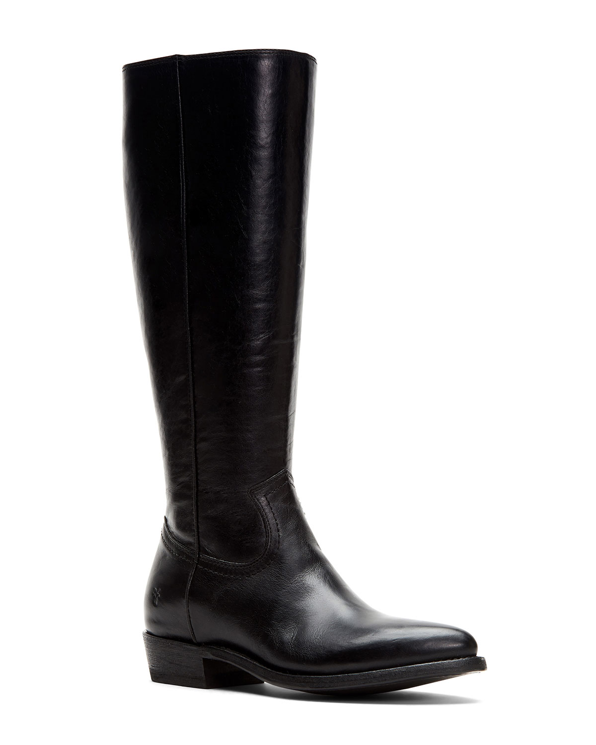 Billy Tall Leather Western Boots