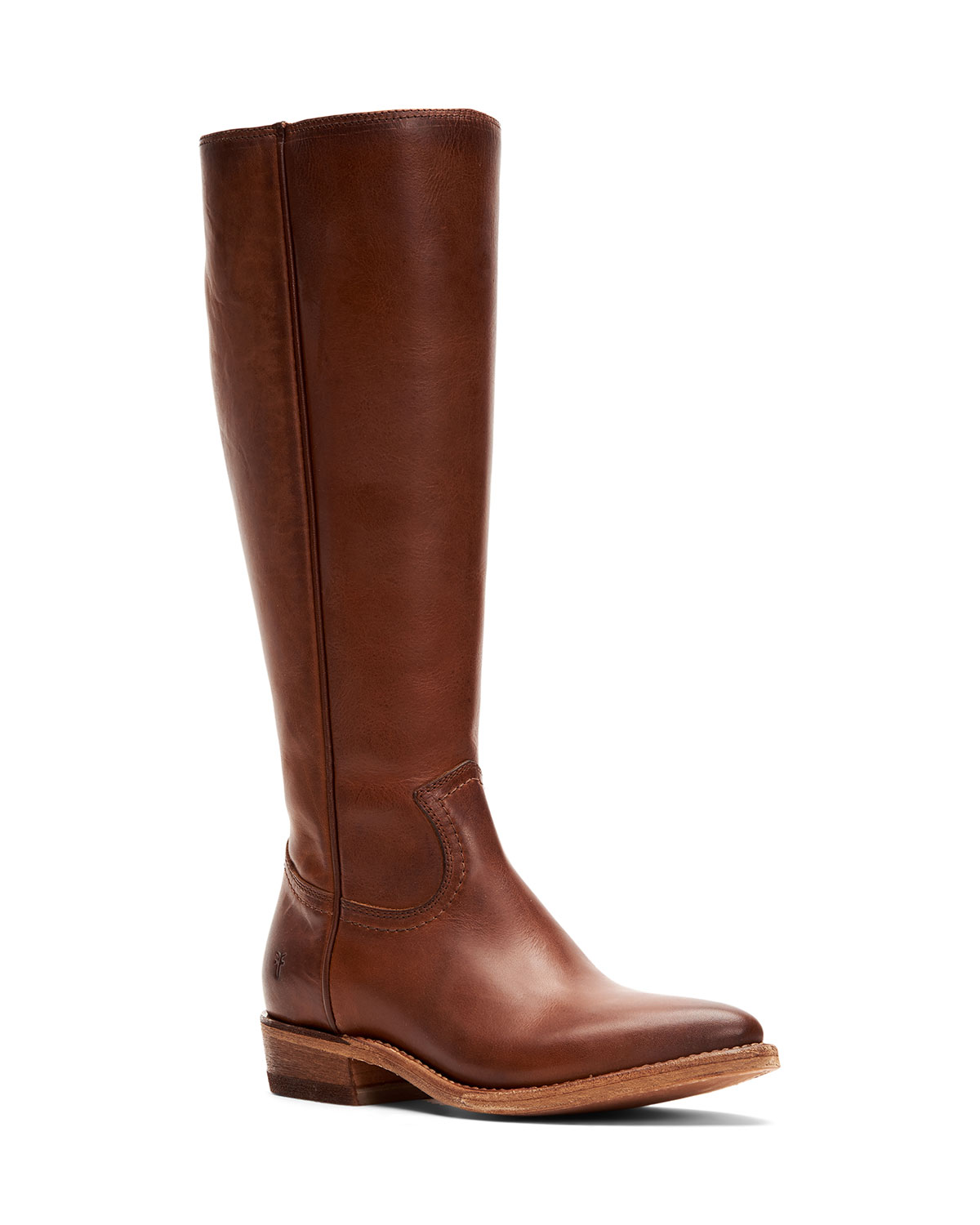 Billy Zip Tall Leather Boots
