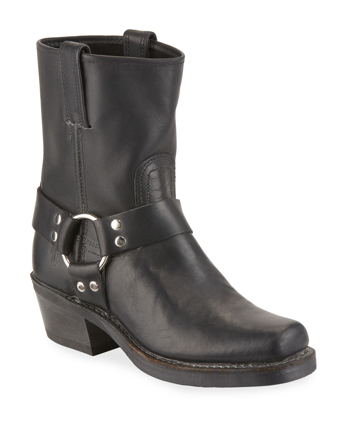 Harness 8R Leather Booties