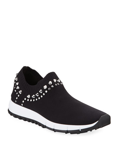 Verona Knit Stud Sneakers