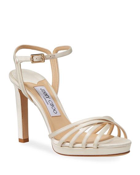 Jimmy Choo Lilah Satin High-Heel Sandals