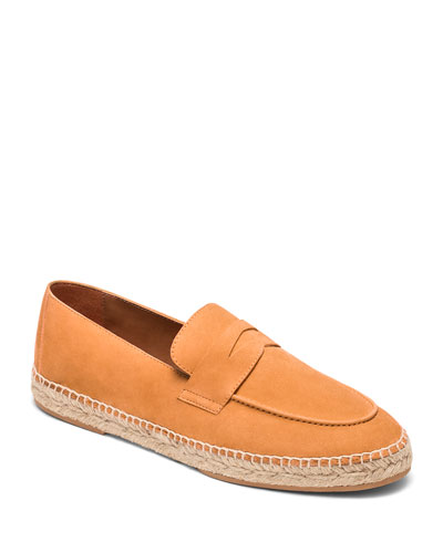 Sunflower Suede Espadrille Penny Loafers