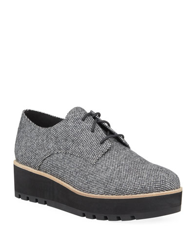Eddy Easy Fabric Platform Oxford Shoes