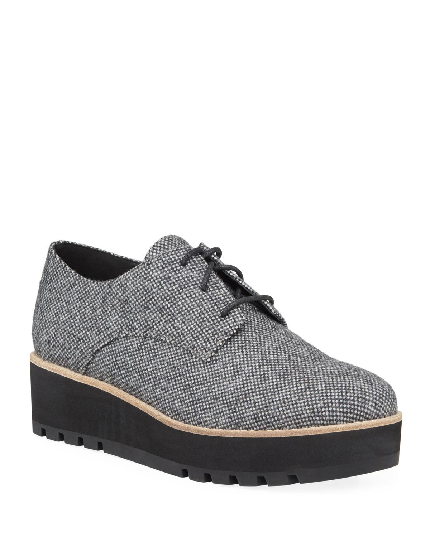 Eddy Easy Fabric Platform Oxford Shoes