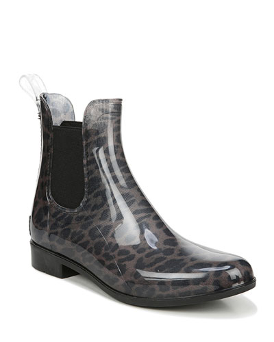 Tinsley Leopard Chelsea Rain Boots