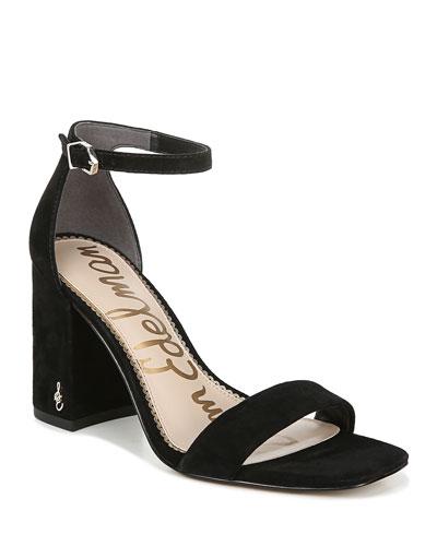 Daniella Suede Ankle Strap Sandals