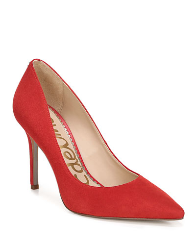 Hazel Suede Pumps