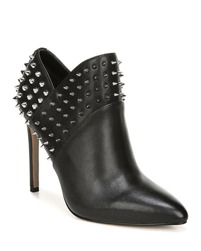 Wally Spiked Leather Booties