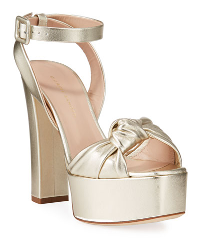 Giuseppe Zanotti Metallic Shoes Neiman Marcus