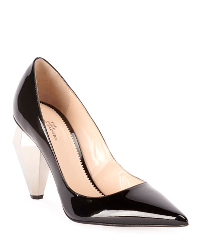 The Pump Patent Pointed Pumps