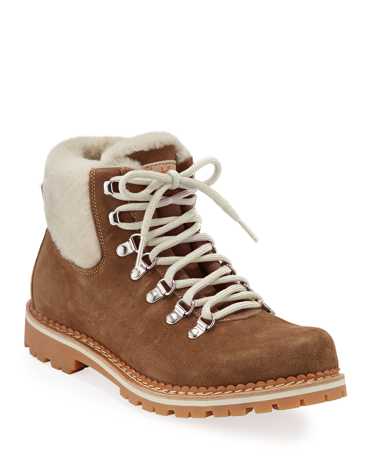 Camelia Boots with Shearling