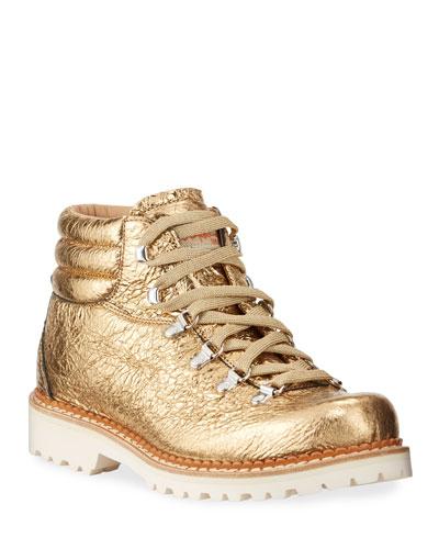 Marlena Metallic Sneaker Boots