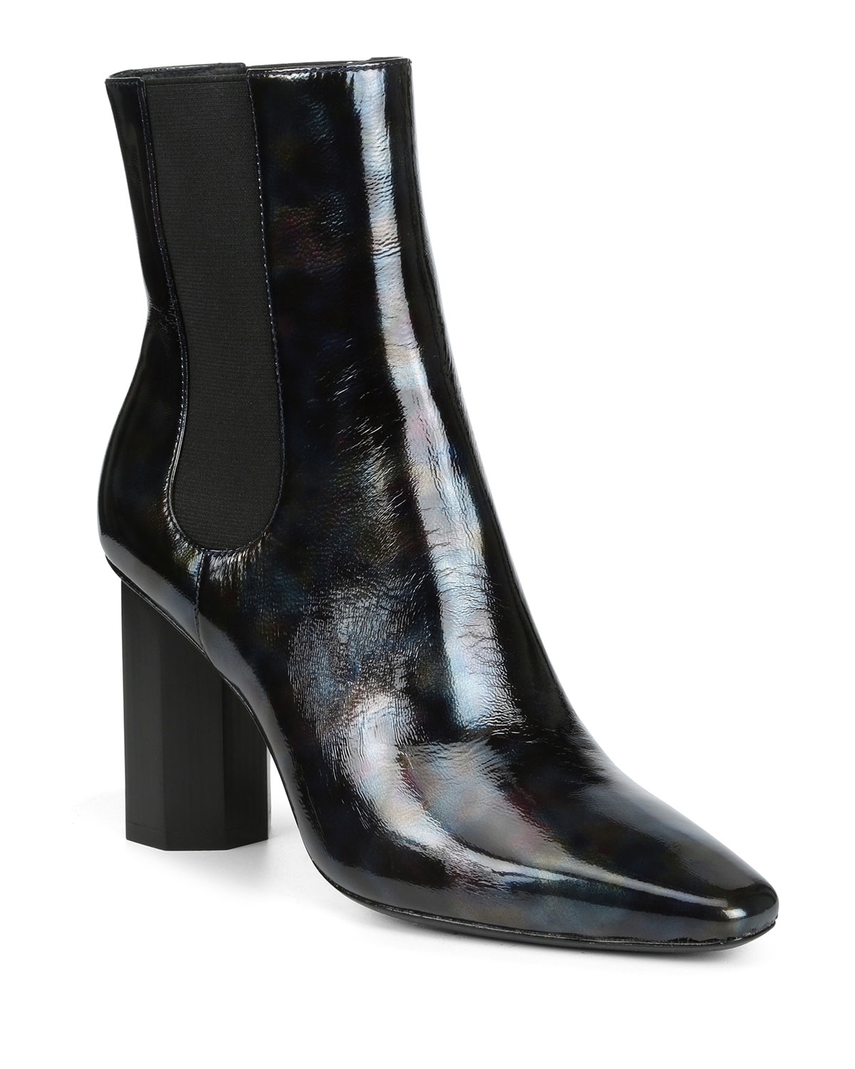 Laila Patent Booties