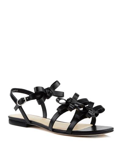 Nikita Flat Leather Sandals