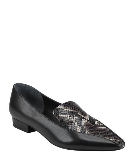 Sigerson Morrison Calida Snip-Toe Loafers