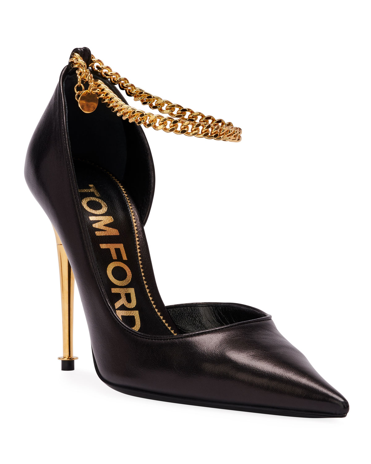 Open-Side Pumps with Chain Strap