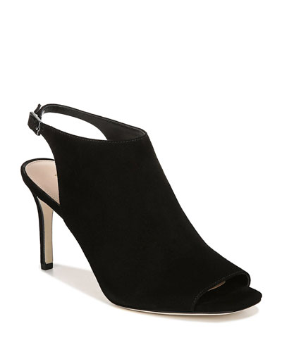 Terese Slingback Suede Sandals
