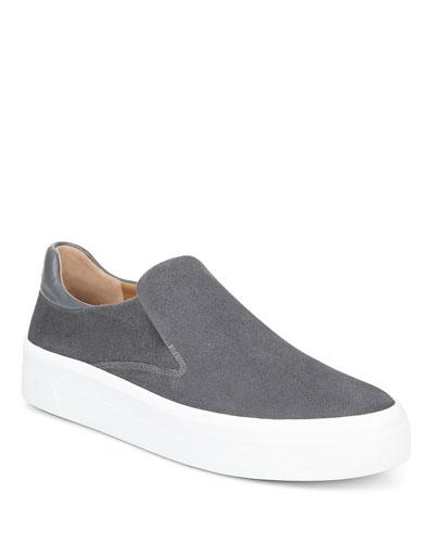Velina Suede Platform Sneakers