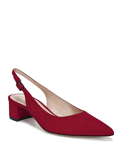 Giana Slingback Calf Pumps