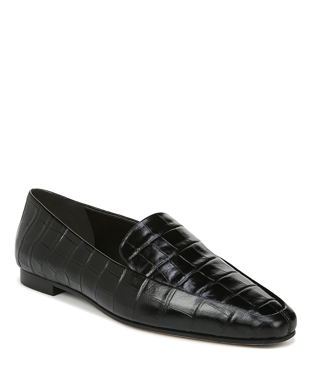 Aylee Flat Croco Loafers