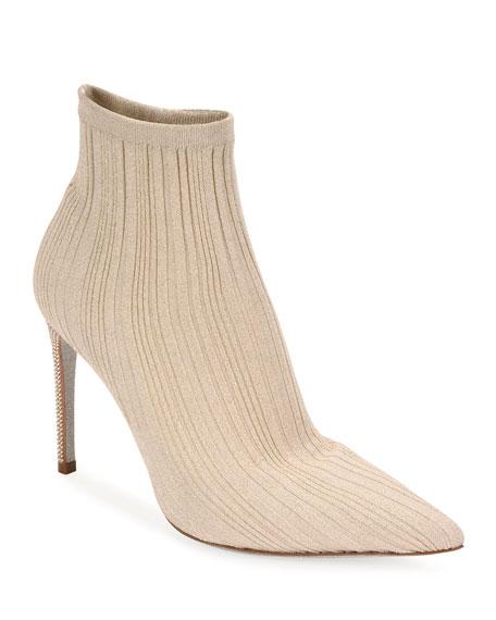 Rene Caovilla Knit Sock Booties